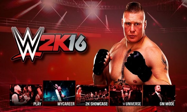 WWE 2k16 PC Game Free Download Full Version